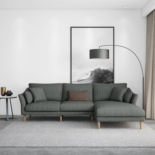Canapé angle gauche Collection Elégance
