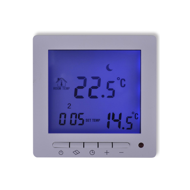 Rocambolesk - Superbe Thermostat programmable numérique pour chauffage au sol avec câble Neuf