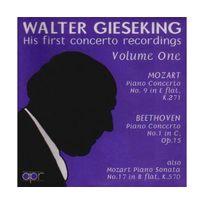 Apr - Walter Gieseking, Early concertos recordings Vol.1