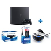 SONY - Pack VR : PS4 Pro 1TO + PSVR + Manettes Move + Caméra
