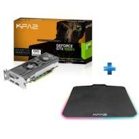 KFA2 - GeForce GTX 1050 Ti OC LP 4GB + Tapis de Souris Gaming Sniper RGB