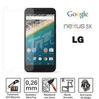 Cabling - Protection écran Lg Google Nexus 5X 5,2 Pouces Film de protection d'écran en verre trempé pour Lg Nexus 5X/Google Nexus 5X 5,2'' protecteur optimal et ultra dur protecteur d'écran en verre trempé Transparent 2.5D