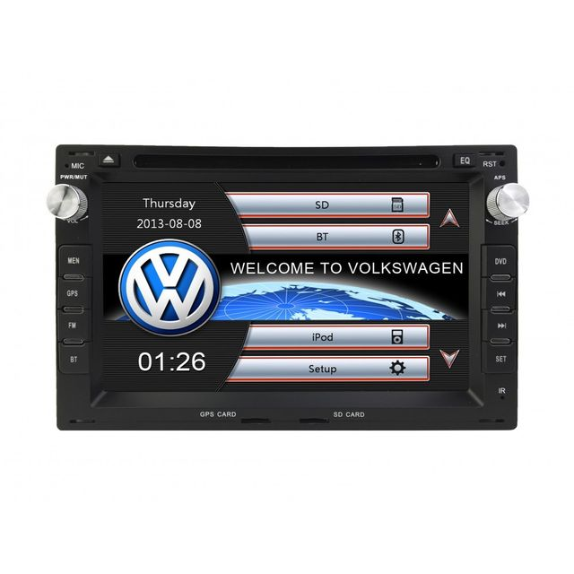 Auto-hightech Autoradio gps wince bluetooth volkswagen radio WiFi