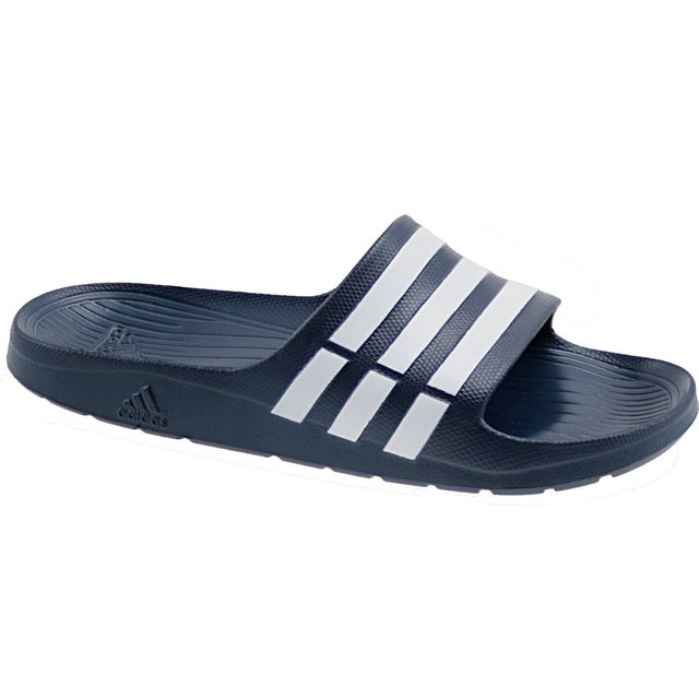 online store 11096 27811 Adidas - Duramo Slide G15892 Bleu - pas cher Achat  Vente Sandales et  tongs homme - RueDuCommerce