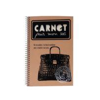 """Dans Sa Tete - Petit Cahier vierge à spirales """"Carnet pour mon Sac"""" - Rétro Vintage"""