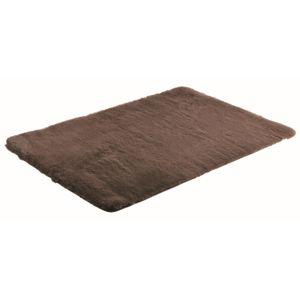 carrefour tapis en fausse fourrure l 110 x l 160 cm ho105621 pas cher achat vente. Black Bedroom Furniture Sets. Home Design Ideas