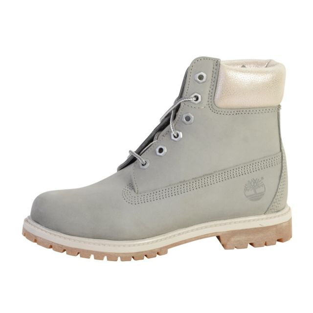 bf4cff70724 Timberland - Chaussure A196J 6in Premium Boot - W W Sleet - pas cher Achat    Vente Boots femme - RueDuCommerce