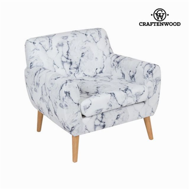 Craftenwood Fauteuil avec accoudoirs marbre by