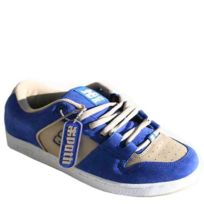 Ipath - Baskets Homme Cricket Leather 2 Tone Blue Beige
