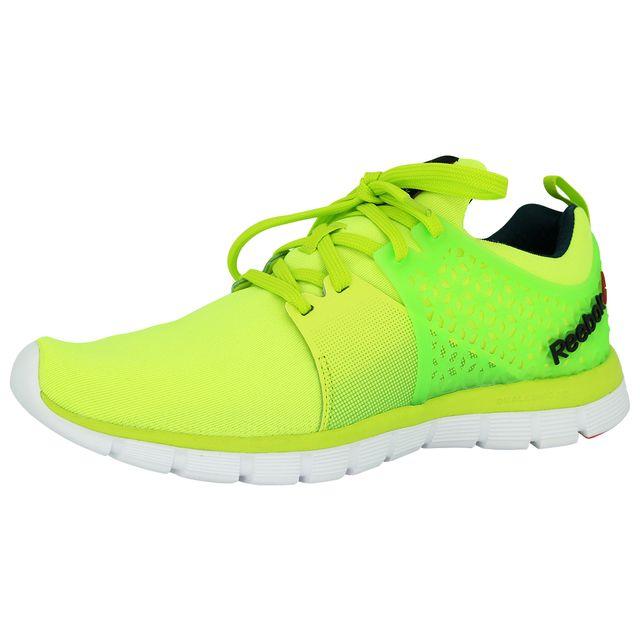 Z 2 Homme Running 12 Reebok Pas 0 44 Jaune Chaussures Rush Dual W9beEDY2HI