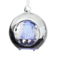 Alinéa - Charme sucré Boule lumineuse à suspendre - Couleurs changeantes - D8cm