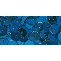 Rayher - Sequins Bleu foncé Ø 6 mm Lisses Boite 6 g Lavable