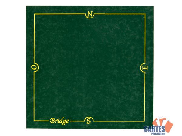 Poker Production Tapis Bridge Cartes Production 77 77 Cm Vert Pas Cher Achat Vente Jeux