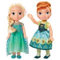 DISNEY - REINE DES NEIGES - Poupées Anna et Elsa - 02203