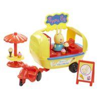 PEPPA PIG SERIE - Peppa Pig en vacances - Le Camion à glaces avec 1 personnage - PPH02