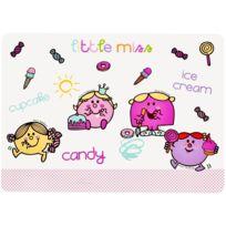 Monsieur Madame - Set de table enfant Monsieur et Madame Little Miss Candy