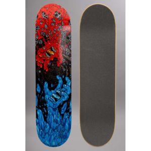 Santa cruz skateboard planche seule us fire and ice pas cher achat vent - Planche de skateboard vierge ...