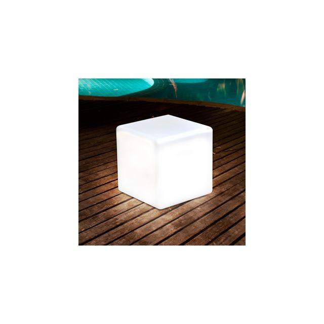 Wundervoll Jany   Cube Lumineux Extérieur Sans Fil Led Multicouleur Australe
