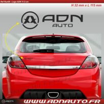 Adnauto - Autocollant - Logo horizontal - Noir - 11.5cm - Adnlifestyle