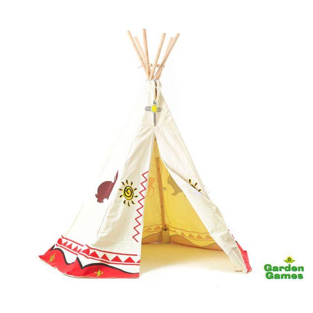 wigwam tipi indien enfant modele mixte exterieur pas cher achat vente maisonnettes tentes. Black Bedroom Furniture Sets. Home Design Ideas