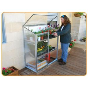 Jardin express serre a etagere polycarbonate pas cher for Jardin express