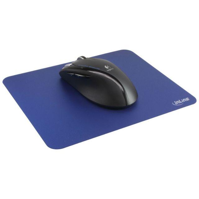 Tapis de souris ® pour une traction laser améliorée ultra mince 220x180x0.4mm bleu