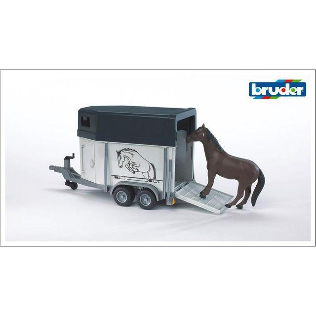 Bruder 02028 Van pour chevaux