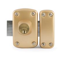 IFAM FRANCE - Verrou D5 double cylindre 35mm s'entrouvrant 3 clés KA1 - IFAM - 27352