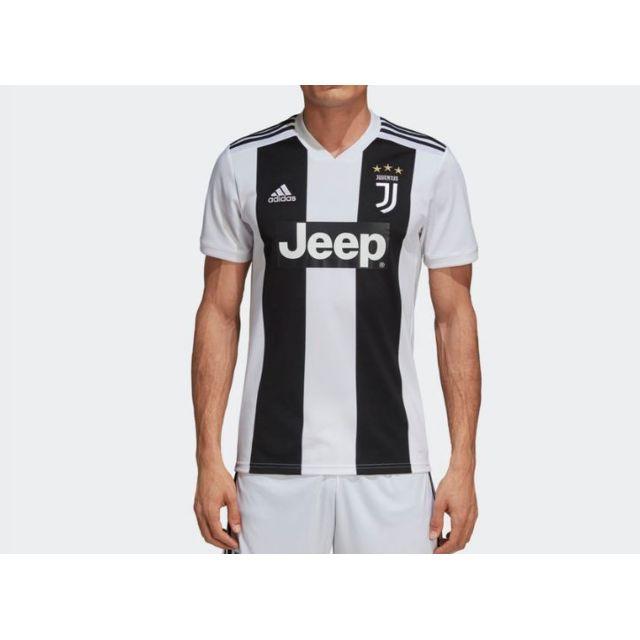 Adidas Maillot de football Juventus Blanc pas cher