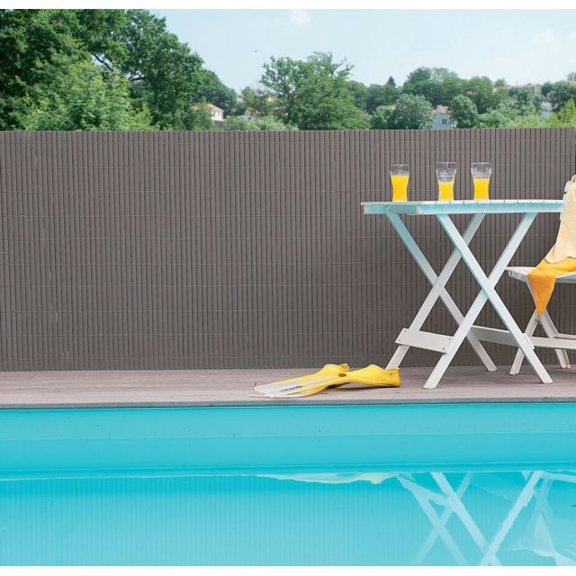 GARDELYS   KANIS   Canisse Double Face   1.5 X 3 M   Taupe