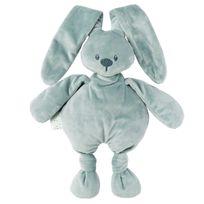 Nattou - Doudou lapin vert de gris Lapidou