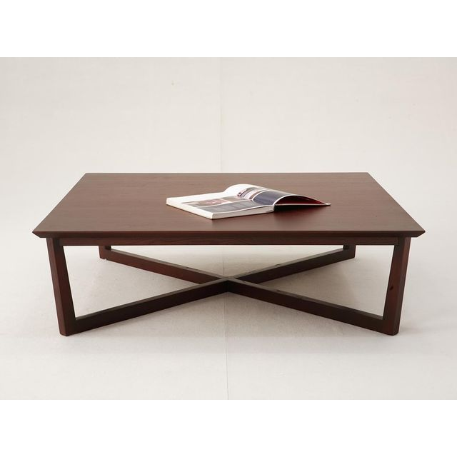 La Maison Du CanapÉ Table basse carrée Varadero - Bois clair