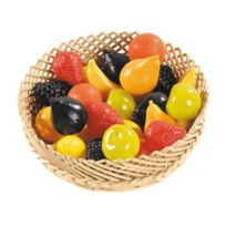 - fruit plastique assorti - sachet de 24
