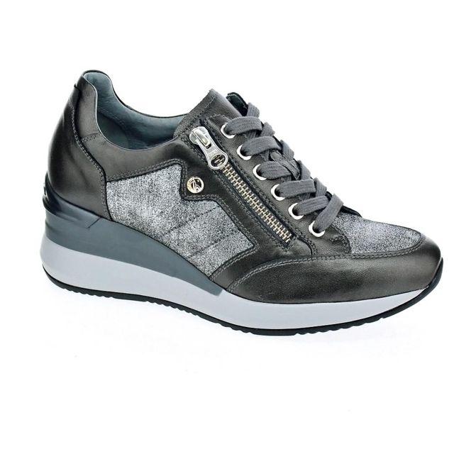 super populaire 6921c 151ad Nero Giardini - Chaussures Femme Baskets basses modele 6611 ...