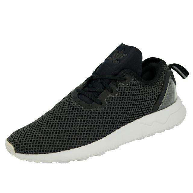 Originals ZX FLUX ADV ASYMMETRICAL Chaussures Mode Sneakers Homme Noir