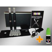 Wellkom - Coffret de 2 Cigarettes Ego T Tank - + e-Liquide 10ml