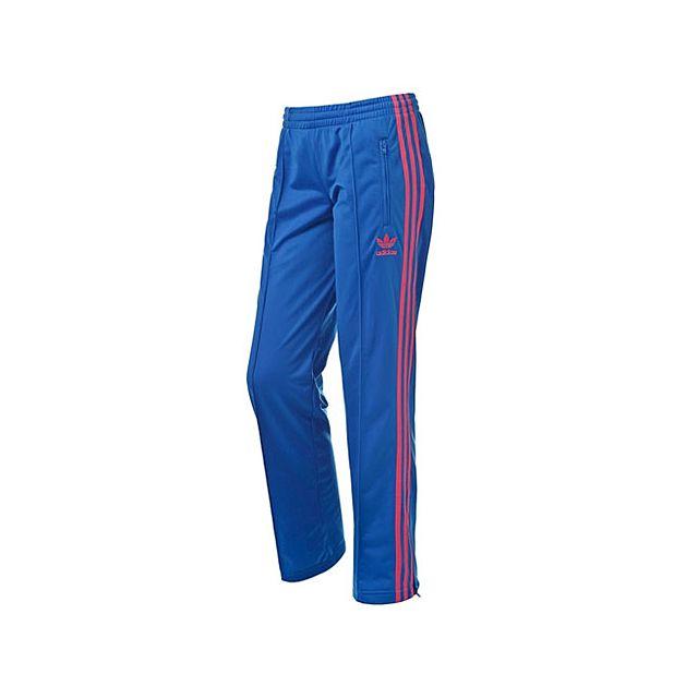 Originals-Pantalon Firebird Bleu / Rouge Femme X32120