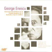Albany Records - Enescu : Symphonie De Chmabre, Quatuor N° 2. Hobson Cd