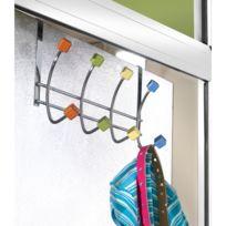 Linea Bertomani - Porte-manteaux 8 têtes cubiques multicolores