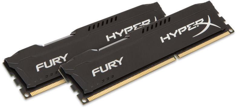 RAM Fury HX318C10FBK2/16 HyperX Noir