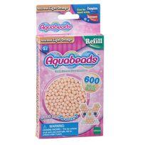 Aquabeads - Recharge de 600 perles oranges claires