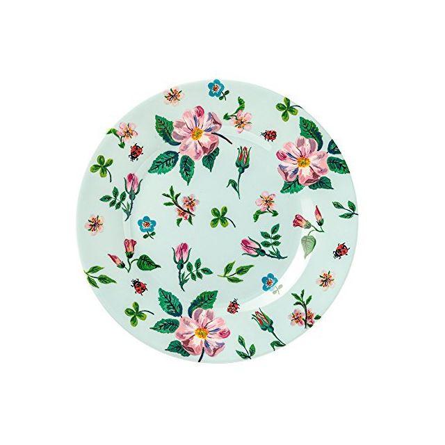 Petit Jour Paris Assiette à dessert à fleurs blanche 20cm Petit Jour