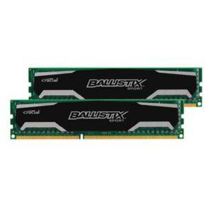 BALLISTIX - Sport 8 Go 2 x 4 Go DDR3 1600 MHz Cas 9