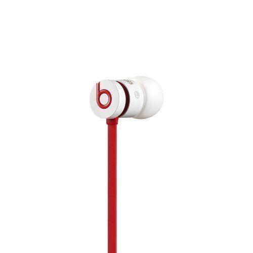 Ecouteurs intra filaire rouge et blanc UrBeats