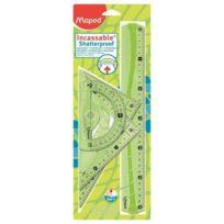 Maped - Kit Traçage Flex Incassable 30cm 4 Pieces