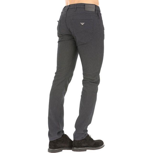 2b32c90c3aae Armani Ea7 - Pantalon 5 Poches Emporio Armani Noir - pas cher Achat ...