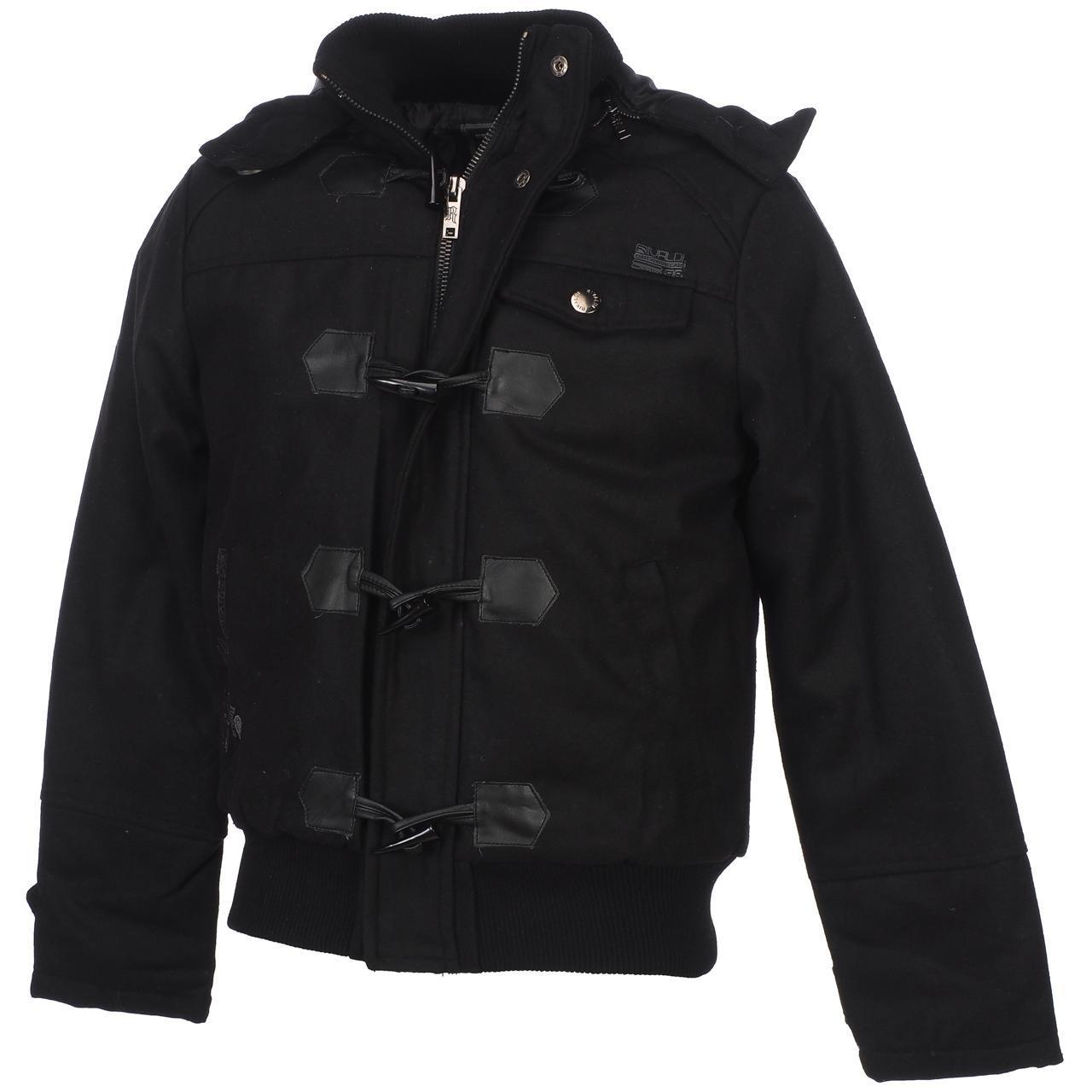 Blouson Reggio black doudoune Noir 52645