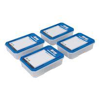 Kreg - Lot de 4 boîtes à quincaillerie - Kss-s Grand modèle