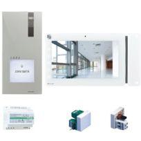 Kit audio 2 fils /à encastrer pour 1 appartement COMELIT COMELIT 8270
