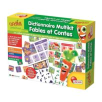 Lisciani Giochi - Carotte Magique Dictionnaire Multikif Fables Et Contes